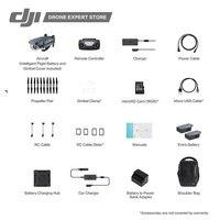 DJI Mavic Pro Fly more combo Portable Drones Quadcopter 4K HD Camera 3 Axis Gimbal 7 KM Remote Control 27min Flight Time