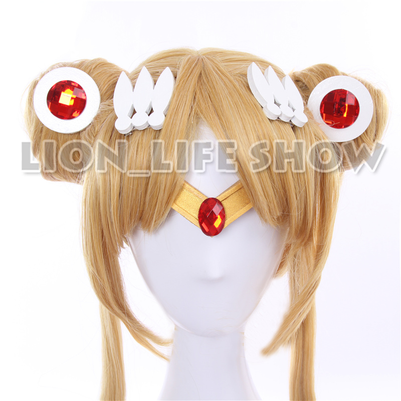 Sailor Moon Tsuking Usagi Sailor Mars Chibichibi Moon Jupiter EVA Gold Headwear Headband Tiara Cosplay Accesseries cos Hairwear