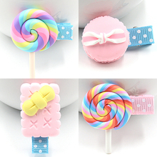 1 шт. новые корейские милые детские заколки для девочек Анжела Полимерная глина стерео мультфильм печенье конфеты заколки для волос Детские аксессуары