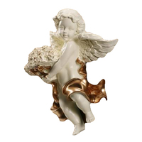 Beautiful Cupid Little Angel Model Crafts, Nordic Creative Home Office Wall Decorations