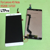 TOP Quality Black White A7020 Full LCD Display Touch Screen Digitizer Assembly For Lenovo Vibe K5