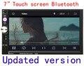 Черный 7 дюймов двойной Din В Тире HD Сенсорный Экран Автомобильный DVD Плеер с 1080 P Воспроизведение Видео оптовая