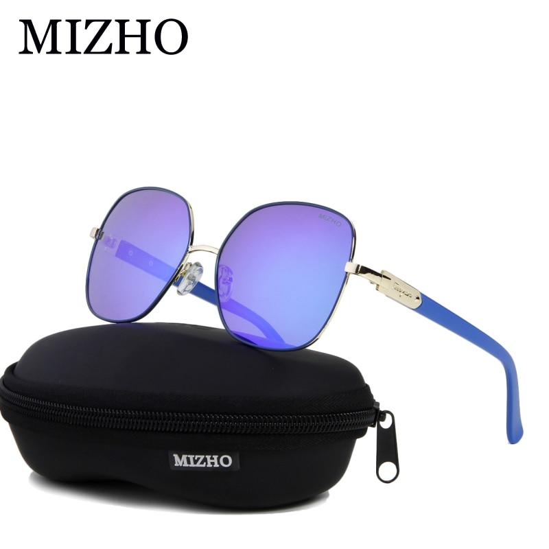 MIZHO 2020 gafas de sol polarizadas cuadradas de Metal de cobre para mujer espejo azul de lujo gafas de moda Steampunk gafas visuales 5 mW 5 KM localizador de fallas visuales equipo de prueba de Cable láser de fibra óptica
