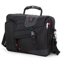 """Hohe Qual Fashion marke Wasserdichte 15 """"Laptop Tragbare Polyester tasche Männer und Frauen Laptop Messenger Business-tasche"""