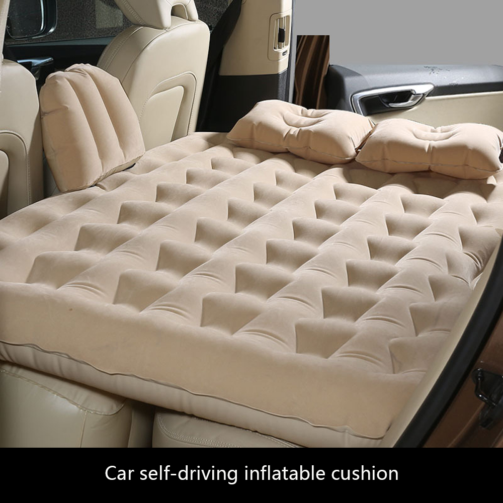 Outdoor Camping Travel Bed Moisture proof Pad Car MPV SUV Car Self driving Trave Inflatable Mattress