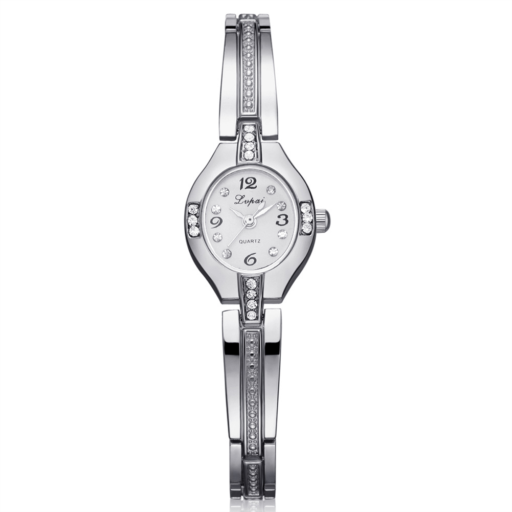Luxury Brand Women Watches Ladies Dess Fashion Simple Diamond Bracelet Gold Watch montre femme relogio
