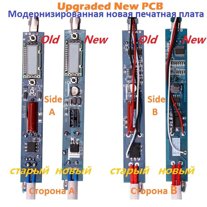 Tools : A-BF GS90D Industrial Soldering Iron LCD Display Sleep Function Welding Electric Solder Rework Tool Repair Kit Rework Station