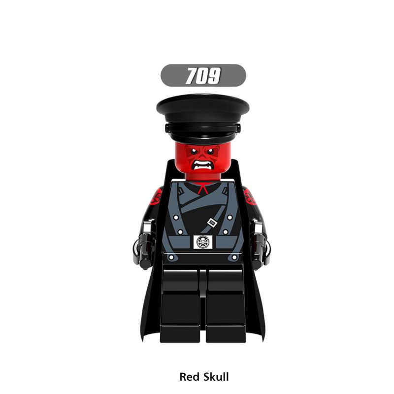 ขายเดียว Super Star Wars 709 Red Skull ชุด Mini Building Blocks รูปของเล่นเด็กของขวัญเข้ากันได้กับ Legoed ninjaed