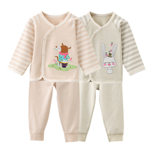 цена на Newborn Baby Clothes Cotton Long Sleeve Spring Autumn Baby Rompers Soft Infant Clothing Toddler Baby Boy Girl Jumpsuits