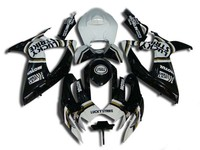 Hey mold Fairings set for SUZUKI GSXR600 750 K6 06 07 GSXR 600 GSXR750 2006 2007 ABS white black LUCKY Fairing kit