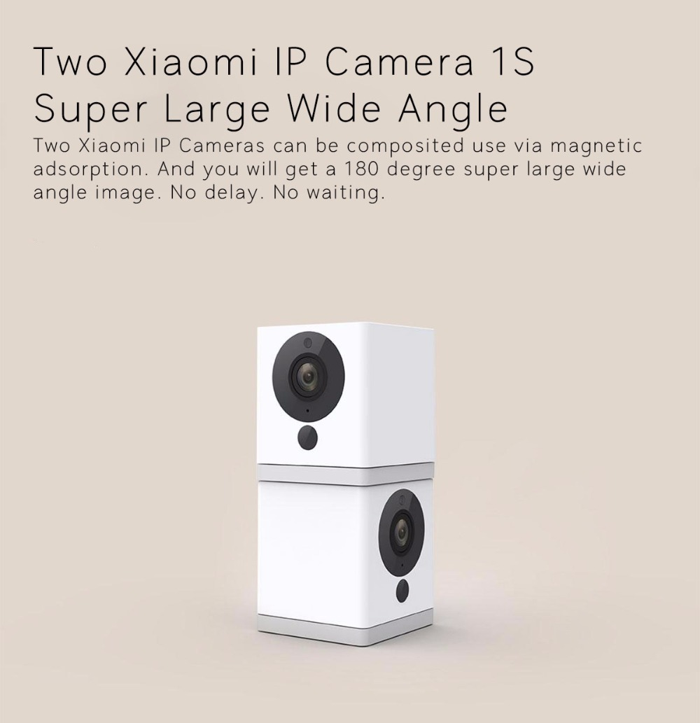 Mijia Xiaofang Dafang Smart Camera 1S 1080P New Version WiFi Digital Zoom  APP Control Camera For