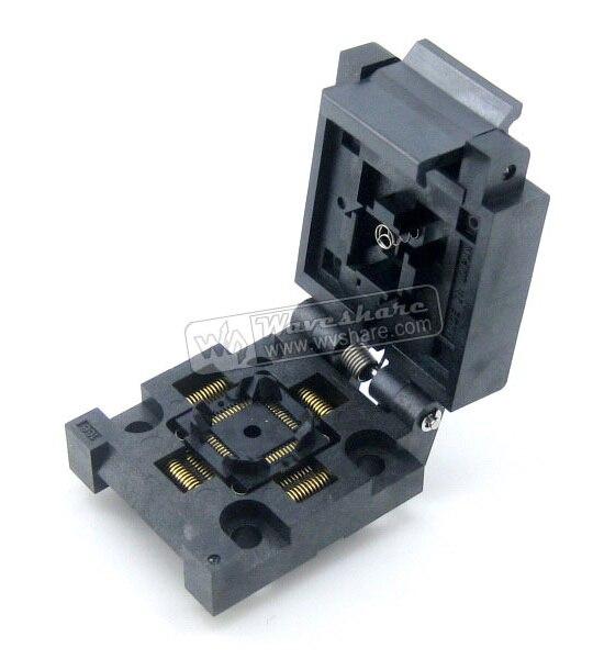 FPQ-48-0.5-06 Enplas IC Test & Burn-in Socket pour QFP48/TQFP48/FQFP48/PQFP48 paquet 0.5mm pas