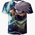 New Arrival Homens Slim Fit Camiseta Dragon Ball Camiseta Tshirt Dos Desenhos Animados 3D T-Shirt com Mangas Curtas Crewneck Camisetas Hombre