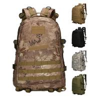 Outdoor Sports Bags Waterproof Military 3DTactical Backpack 40L Camouflage High Quality Oxford Climbing Camping Sports Backpacks