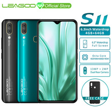 LEAGOO S11 4GB 64GB Mobile-Phone Quick Charge 4.0 Octa Core Fingerprint Recognition 13MP
