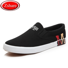 Men Casual Shoes Black White Solid Canvas Shoes Man Loafers Summer Breathable Sneakers Men Slip-On Flat Shoes Plus Size 39-47 цена