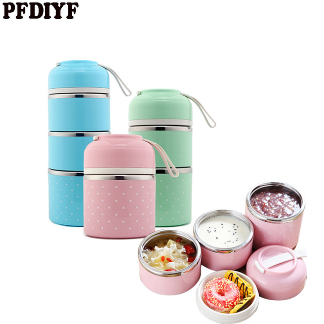 76b316c5dc Japanese Thermal Lunchbox Leak-Proof Stainless Steel Bento Box Kids  Portable Picnic School Food Container Box Dropshipping