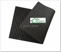 2pcs size 200*100M 4 Square meters Black Color pyramid studio acoustic foam sound acoustic foam acoustic panel panel acustico