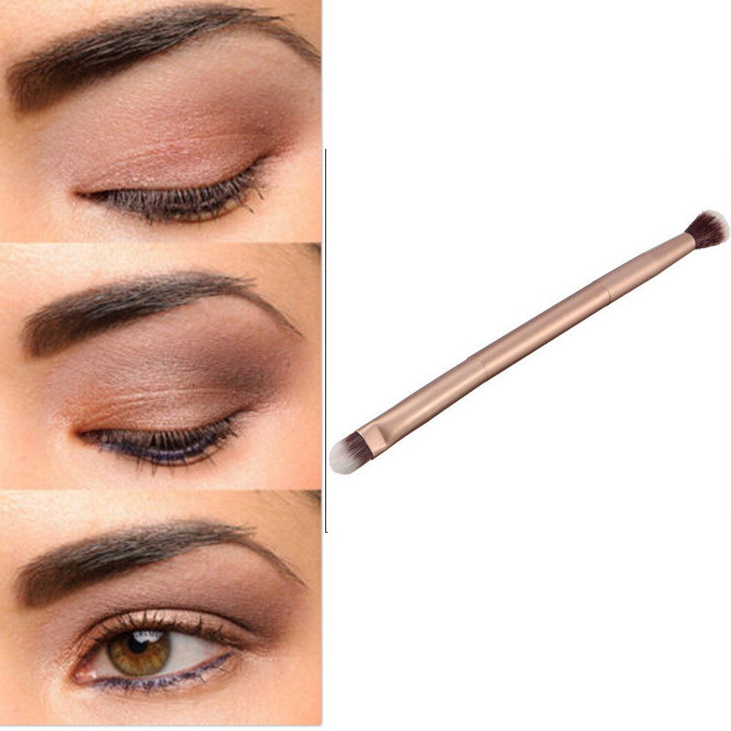 10 PCS Blending Double-Ended Professional Makeup Cosmetics Brushes Eye Shadows Eyeliner Nose Smudge Brush Tool Kit Hot Sale BO