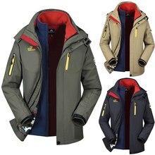SRTM Men Jacket Winter Hoodie Warm Military Plus Size M-5XL Waterproof Windproof Outdoor Thick Fleece Parkas Loose Coat N99798