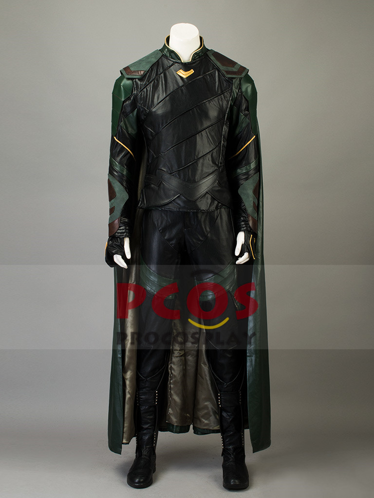Thor: Ragnarok Cosplay Loki Laufeyson Costume & Boots mp003771