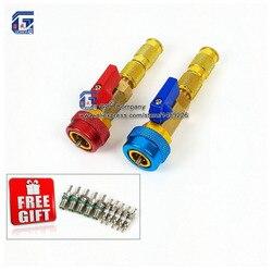 R134a R12 zawór obierak do usuwania środka instalator/wymienić wysoki niski boczny zawór schradera narzędzia do naprawy