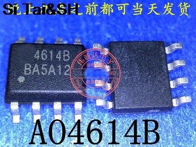 10pcs/lot AO4614 SOP-8 4614 AO4614B Field Effect Transistor