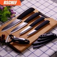 4Pcs Set Kitchen Knives Cook Set Ceramic Knives Cook Set 3 4 5 6 Inch Zirconia