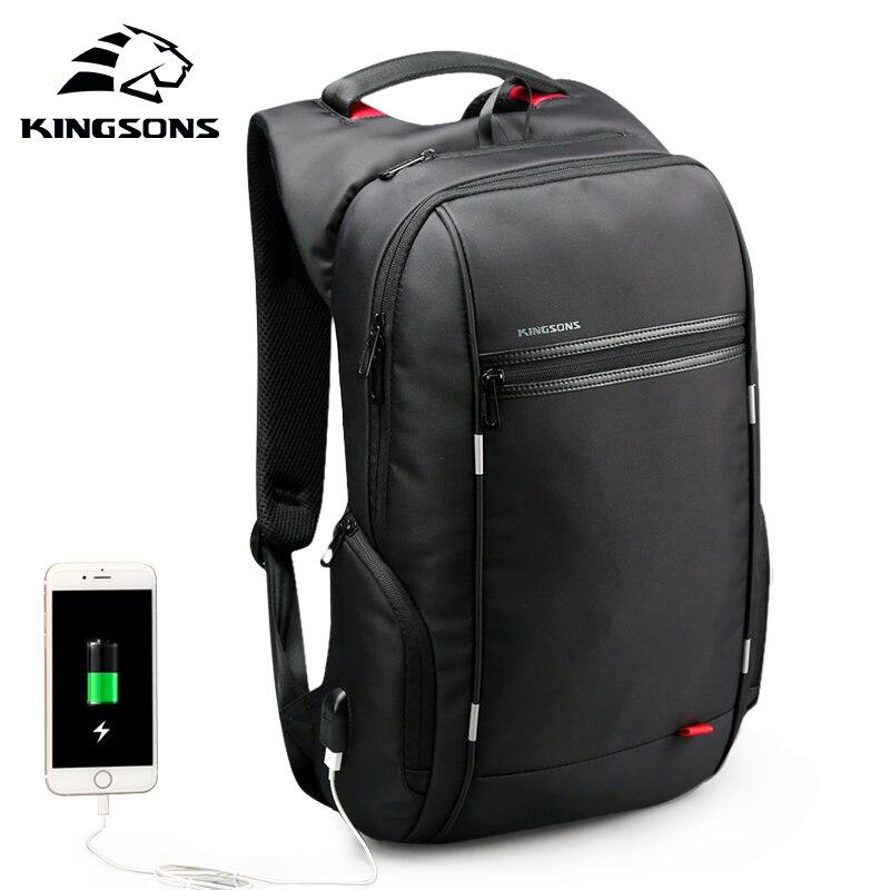 KINGSONS 2019 nouveau 15 pouces protecteur Liner sac à dos pour ordinateur portable hommes femmes mode sac à dos d'affaires loisirs voyage étudiant sac à dos