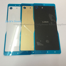 Original Glass Back Cover for Sony Xperia M5 Battery Cover with NFC for Xperia M5 Dual E5603 E5633 battery Cover Housing Door