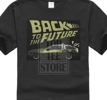 Back To The Future MenS Btf T Shirt Black