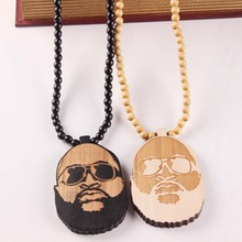 Buy ross rick and get free shipping on aliexpress free shipping rick ross pendant good wood hip hop wooden nyc fashion necklace 2 colors aloadofball Gallery
