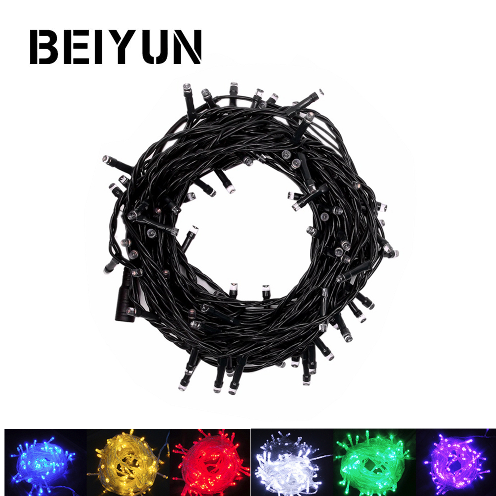 DC12V Fairy Lights Outdoor Led String Christmas Waterproof led Flexible Garland Garden Holiday Indoor led lights decoration 10M playtoday панама для девочки playtoday