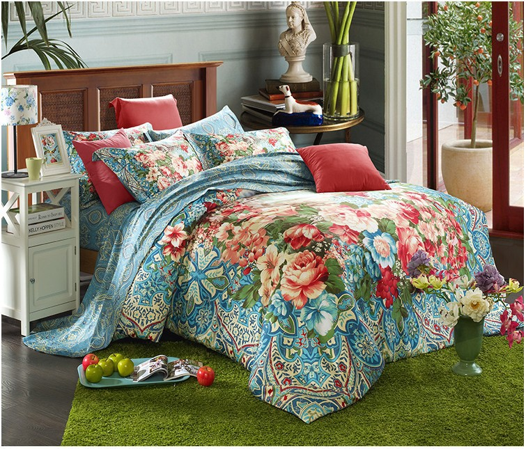100 Egyptian Cotton Sheets Bedding Sets Quilt Duvet Cover