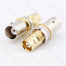 50pcs/lot  BNC L9-KK BNC Female To L9 Female Connector Signal Adapter 50pcs lot sud50n06 09l 50n06 09l to 252