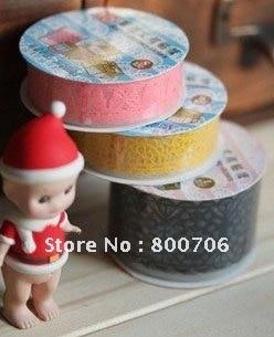 Decorative Lace Tape Adhesive Tape  96 pcs,Free Shipping