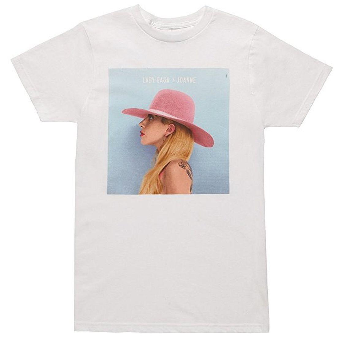 Gildan Lady Gaga Joanne Album Cover Mens T-Shirt SM, MD, LG, XL New