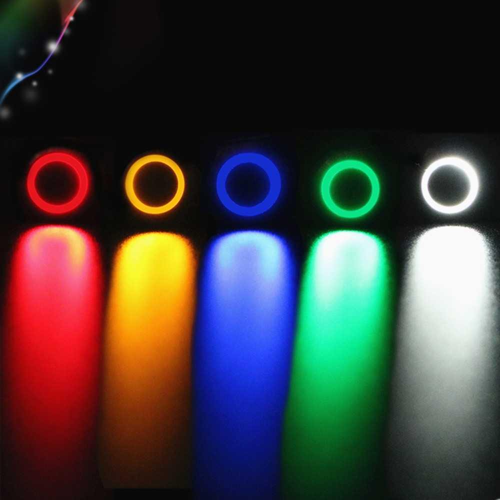1 шт. 12 мм светодиодный 3 в 5 в 12 В 24 В 220 В металлический кнопочный переключатель Мгновенный Кнопочный автоматический сброс водонепроницаемый с подсветкой