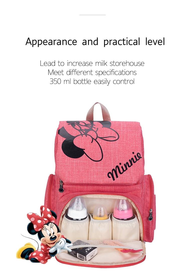 HTB1 mnMasvrK1Rjy0Feq6ATmVXaw Disney Mickey Minnie Large Capacity Mummy Maternity Nappy bag Baby Travel Backpack Designer Nursing Bag For Baby Care Diaper Bag