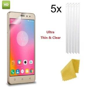 5x anty zarysowania ekran HD LCD folia ochronna folia do K8 uwaga K3 K5 Plus K6 uwaga P70 A7010 Vibe strzał Z90 X3 X2 P2 ochrona ekranu