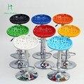 Мода барный стул высокий подъем лапки Контракт творческие передние стол поворотный птичье гнездо стул