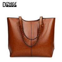 DIZHIGE Women Handbags Women Bags Designer High Quality Leather Shoulder Bag Ladies Hand Bags Female Casual