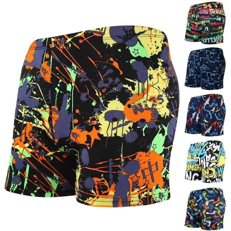 2019 Baru Musim Panas Pakaian Renang Baju Renang Maillot De Bain Anak Berenang Jas Boxer Celana Pendek Renang Renang Surfing MEF6649