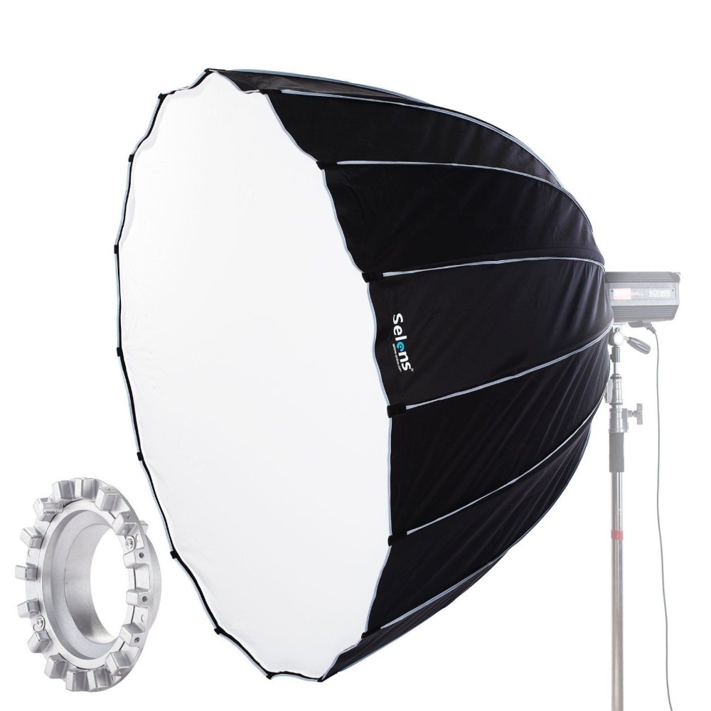 Selens 90cm 120cm 150cm 190cm With Bowens Mount Hexadecagon Umbrella Flash Softbox Fotografia Light Box For Camera Speedlite