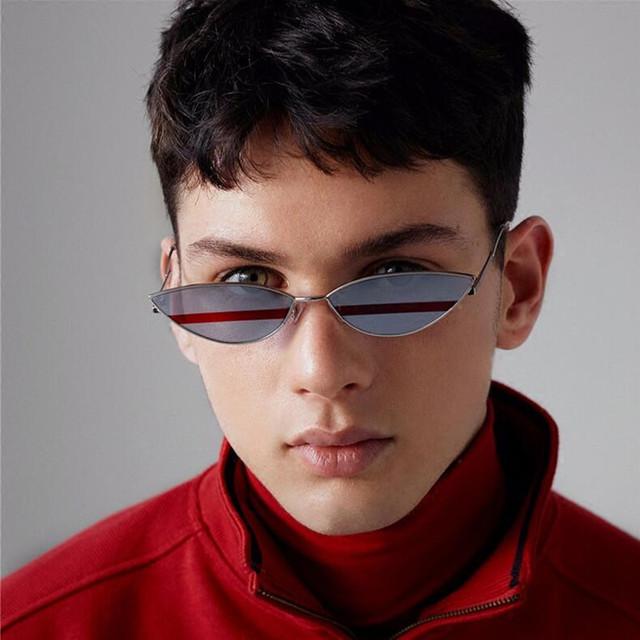 Vintage Gradient Metal Frame UV400 Sunglasses