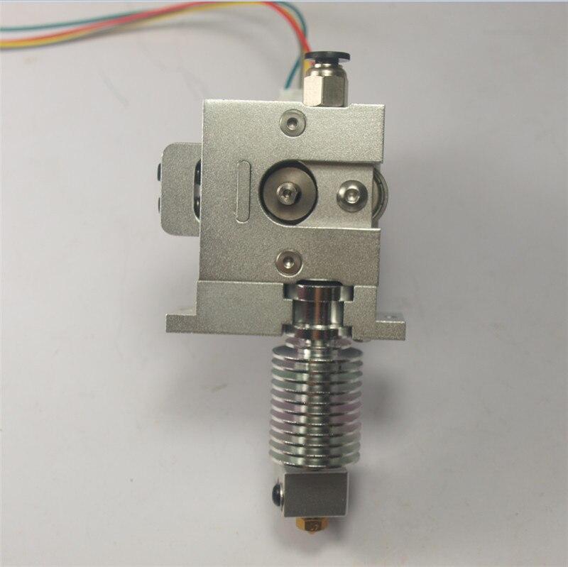 3D Imprimante Tout En Métal BullDog Lite fin kit ensemble 1.75mm avec hotend Extrudeuse + chaude montage plaque RepRap Prusa Mendel directe extrudeuse