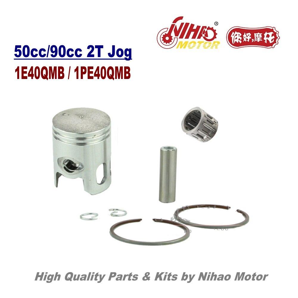 Набор Колец поршневых штифтов JOG 50/80cc 10/12 мм, роликовые иглы, 2-тактные детали двигателя, 1E40QMB 2T Jog китайский мотоцикл Скутер 50 7