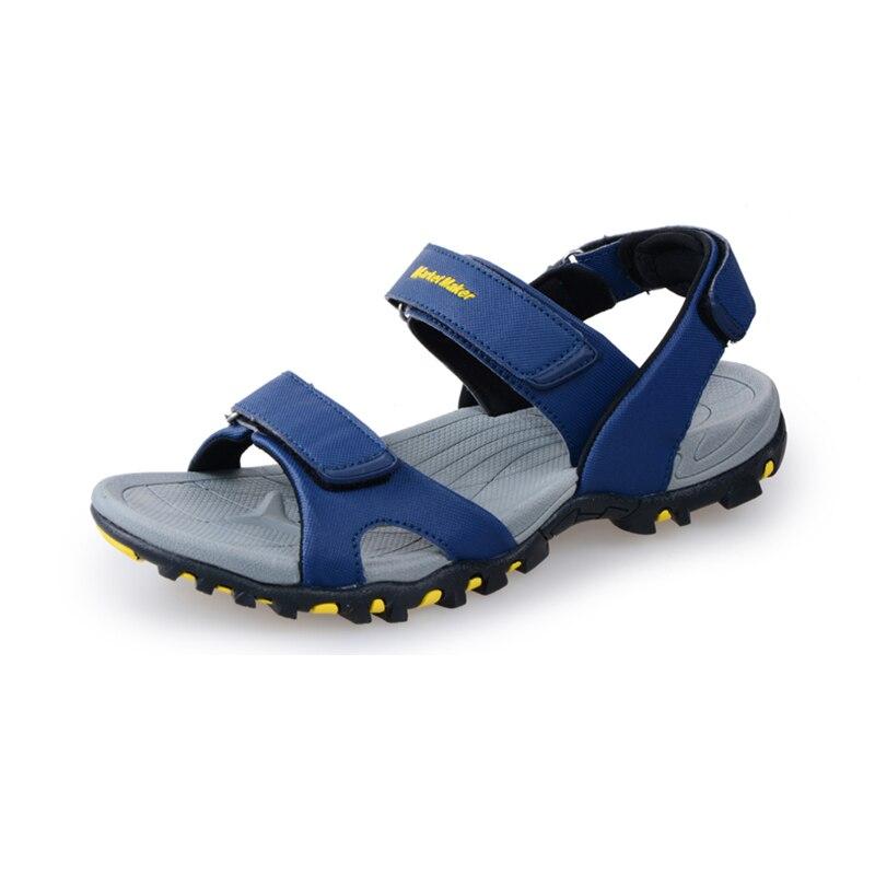 Laamei Men Sandals 2018 Summer Men Black Beach Sandals High Quality Unisex Summer Flat Shoes sandalias para Hombre Size 39-44