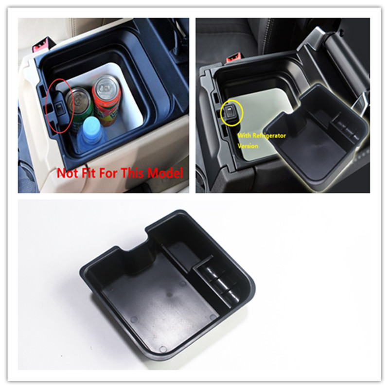 2014-2016 For Land Rover discovery 4 LR4 Inner Central Armrest Storage Box Container Secondary Holder Car Styling Accessories for land rover evoque 2009 2013 central storage pallet inside armrest organizer container box
