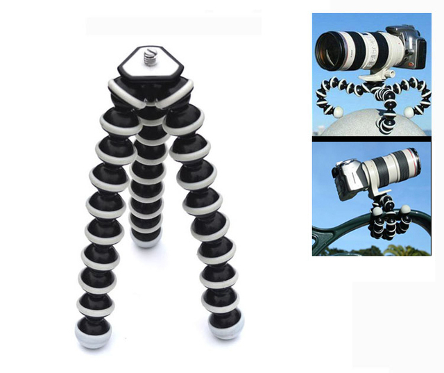 Wholesale Multifunctional Slr Camera Tripods Mobile Phone  Large Octopus Tripod for Xiaomi YI Camera Gopro Hero 5 4 3+ SJCAM
